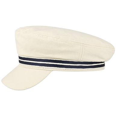 afd68474d26cd Stetson Canvas Elbsegler Fisherman Cap Baker-Boy-Mütze Newsboy Schirmmütze  Baumwollcap Kapitänsmütze Damen