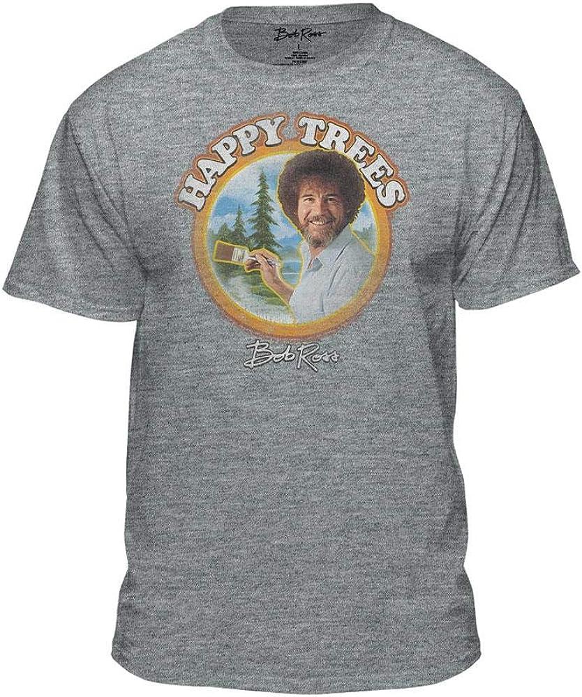 Bob Ross Happy Trees - 100% Authentic - Men-Women-Kids