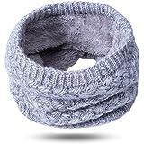 KAKU ネックウォーマー マフラー スヌード 柔らかい レディース 軽量 無地 ストール 可愛い 人気 秋冬 女性 男性 子供 暖かい