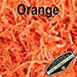 Mighty Gadget (R) 1/2 LB Orange Crinkle Cut Paper Shred Filler for Gift Wrapping & Basket Filling