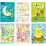 Peaceable Kingdom Card Set for New Babies - Box of 12...