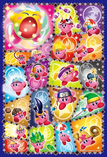 Ensky Kirby of The Stars Triple Deluxe Copy Ability Collection Art Crystal Puzzle (300 Piece)