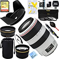 Canon EF 70-300mm f/4-5.6L IS USM UD Telephoto Zoom Lens for Canon EOS SLR Cameras + 64GB Ultimate Filter Bundle