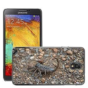 Etui Housse Coque de Protection Cover Rigide pour // M00133417 Escorpión Insectos África Naturaleza // Samsung Galaxy Note 3 III N9000 N9002 N9005