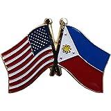 Flagline Philippines   Friendship Lapel Pin