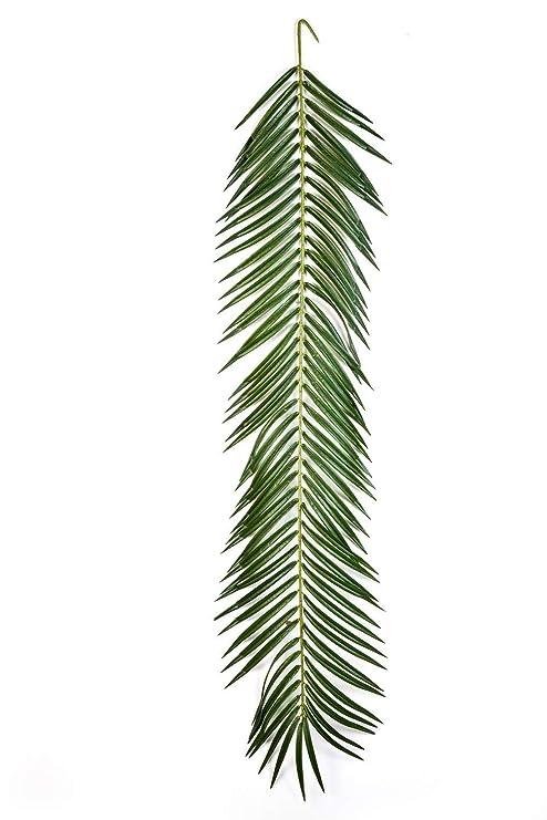 artplants.de Set de 6 x Decorativa Hoja de Palmera fénix ...
