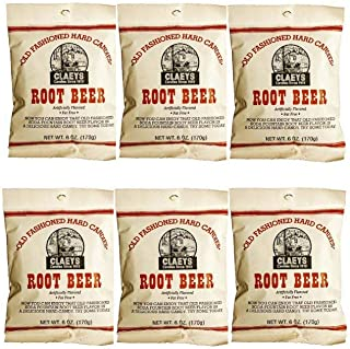 product image for Claeys Old Fashioned Hard Candy - 6 Pack - Root Beer - Since 1919