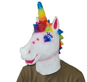 Nueva máscara de caballo de unicornio de Halloween