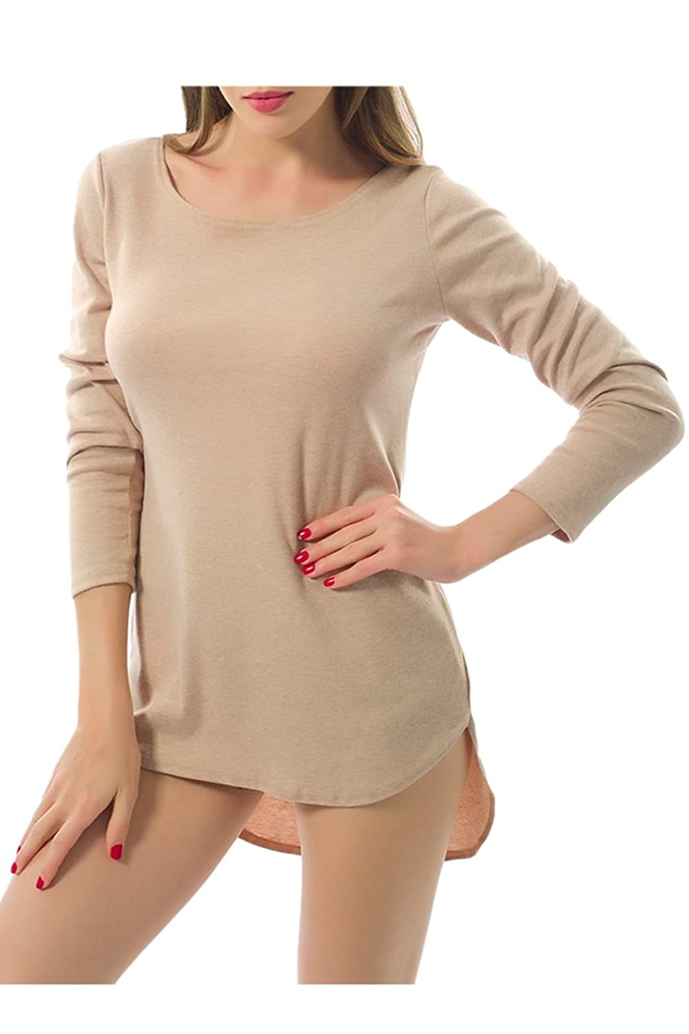 Cutiefox@ Women's Sexy Cashmere Long Sleeve Pullover Sweater Cardigan