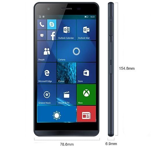 """6 opinioni per Funker W5.5 Pro 4G 16GB- smartphones (14 cm (5.5""""), 1280 x 720 pixels, Flat, 1.2"""