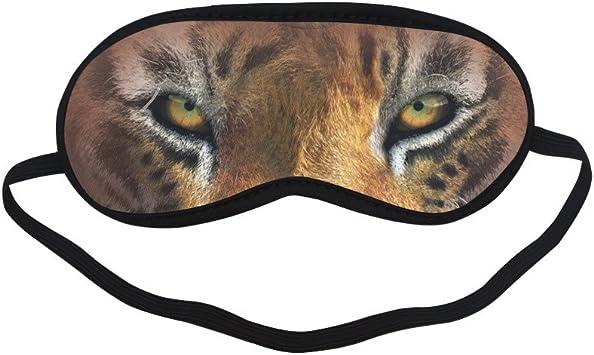 ATEM424 - Máscara de dormir con ojo de tigre acolchado suave ...