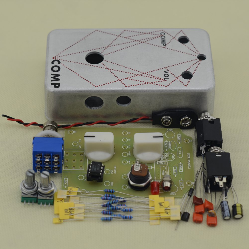 DIY Compressor Professional Guitar Effects Pedal All Kits With 1590B