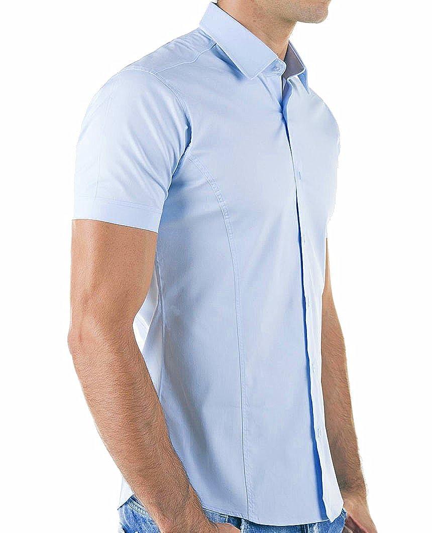 Redbridge Manica Corta da Uomo R-2156 Camicia