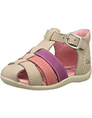 Kickers Bigfly, Sandales Bout Ouvert Fille