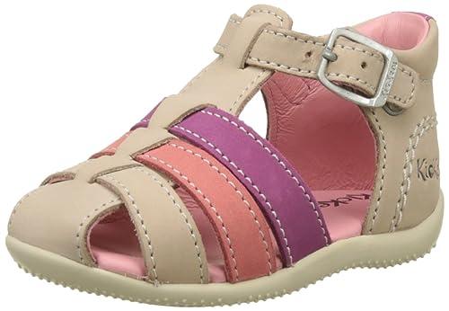 profiter de gros rabais comparer les prix chaussures de sport Kickers Bigfly, Sandales Bout Ouvert Fille