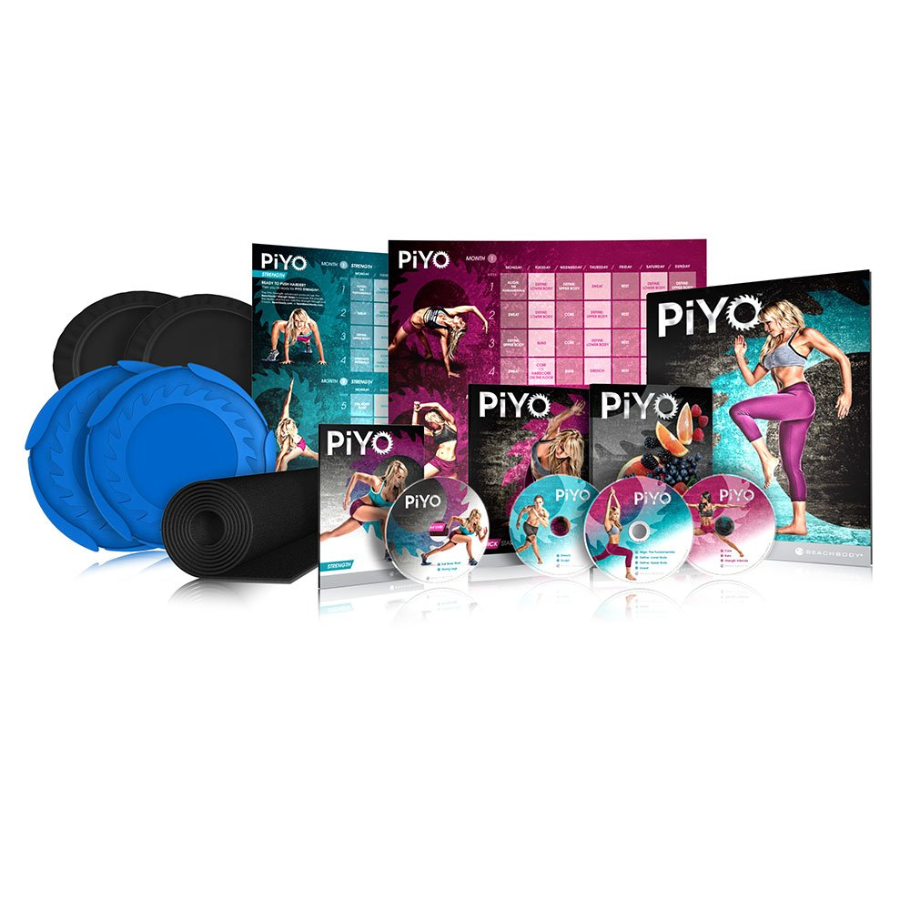 Chalene Johnson's PiYo Deluxe Kit - DVD Workout with Exercise Videos + Fitness Tools and Nutrition Guide by Beachbody