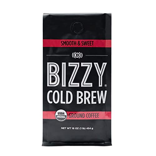Bizzy-Organic-Cold-Brew-Coffee-|-Smooth-&-Sweet-Blend-|-Coarse-Ground-Coffee-|-1-LB