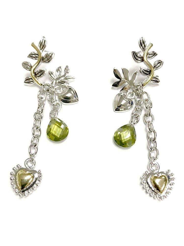 Oem Women's Algerian Love Knot Earrings Casino Royale Bond Girl 007 45MM Silver