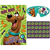 Amscan Awesome Scooby-Doo Party Game Birthday Party Supply, 37-1/2 x 24-1/2