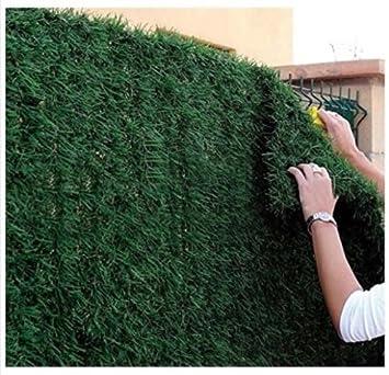 Haie de jardin artificielle, en rouleau de 1,5 x 3 m (4,5 m² ...
