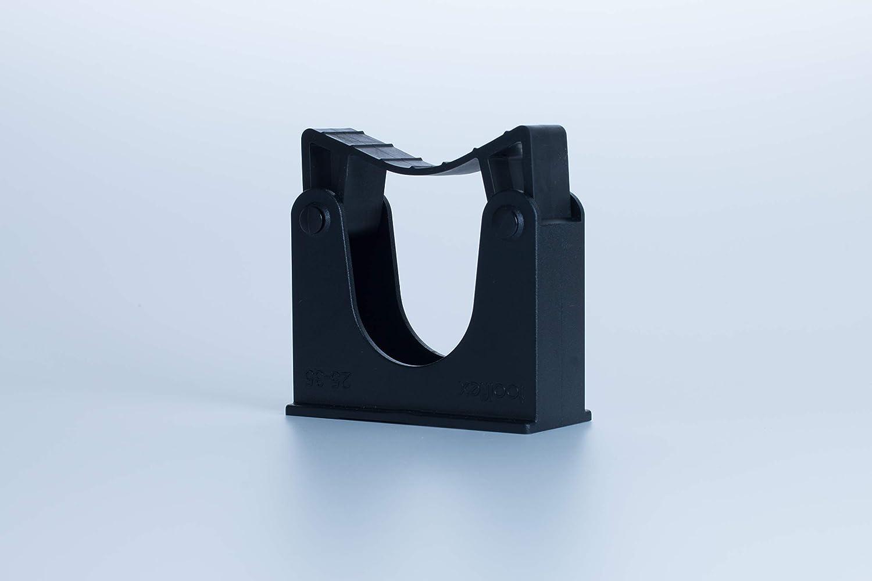 Black Toolflex Tool Holder Bracket for Poles 30-40 mm in Diam