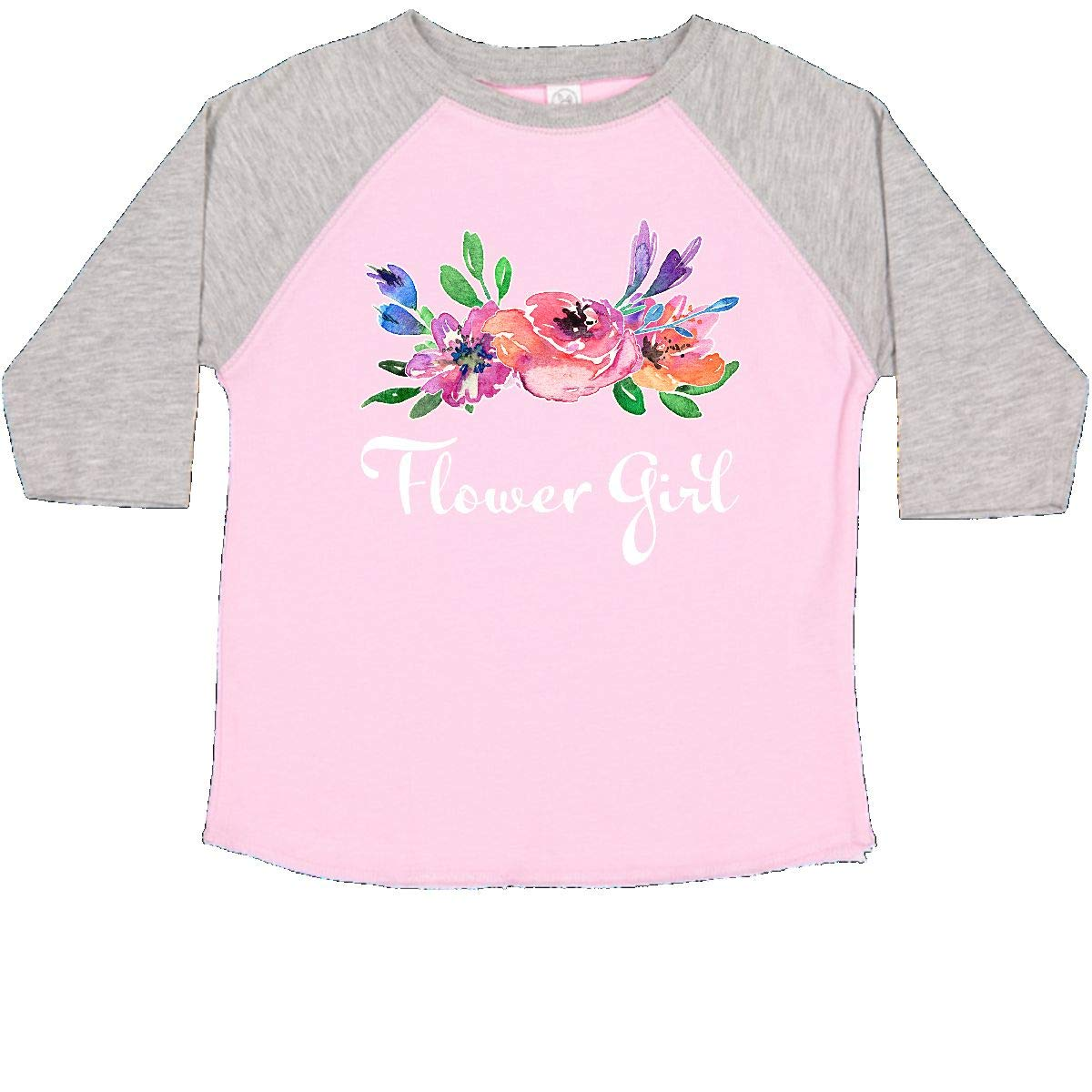 inktastic Flower Girl with Bouquet Toddler T-Shirt