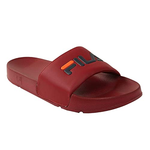 71d0a7067323 Fila Men Red Drifter Flip Flops  Buy Online at Low Prices in India - Amazon. in