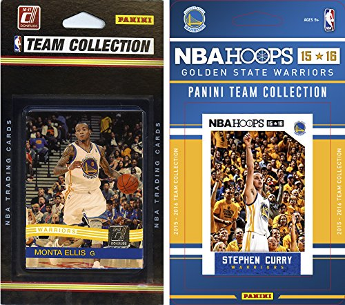 C&I Collectables NBA Golden State Warriors 2 Different Licensed Team Set Trading Card by C&I Collectables