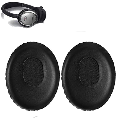 b76215bf380 Amazon.com: QC3 Earpads Replacement Ear Pad Cushion Muffs Parts Compatible  with Bose QC 3 On-ear OE2 OE2i Audio Headphones: Home Audio & Theater
