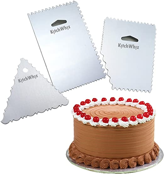 Pack de 3 – decoración de pasteles peine – PREMIUM CALIDAD ...