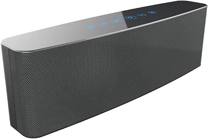 Barra de sonido Subwoofers Altavoz portátil de cine en casa para exteriores Subwoofer incorporado de sonido envolvente Soporte de cable de audio TF / 3.5mm, para PC Tablets Computadoras Smart Phones: Amazon.es: