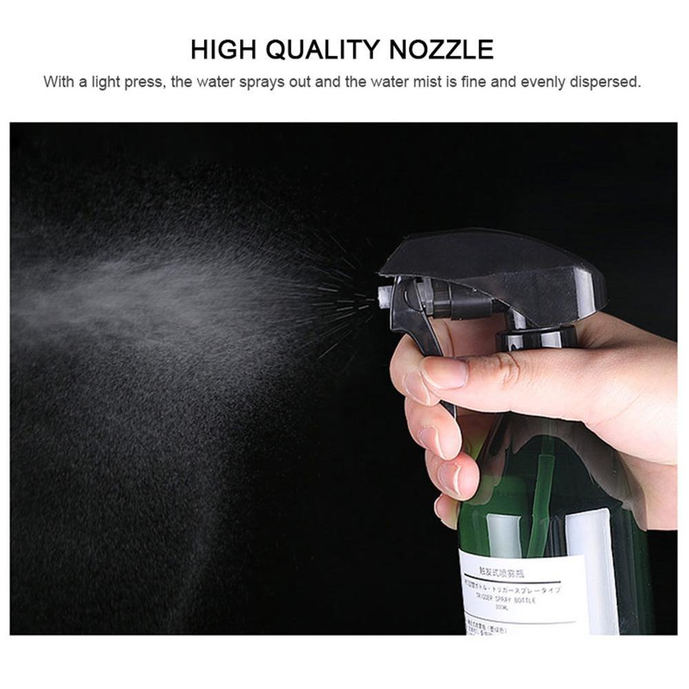 300ml//10oz Plastic Empty Spray Bottle,2 Pack Plant Mister Water