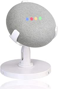Stand for Google Home Mini, AutoSonic Google Home Mini Table Stand Accessories for Smart Home, 360 Degree Rotation Swivel,Tilt Function, Anti-Slip Base