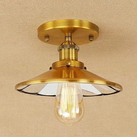 Luz de Industrial Vintage de Lámpara Ronda Techo Retro Techo CxhrdBsQot