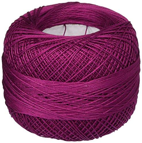 Handy Hands Lizbeth Premium Cotton Thread, Size 40, Boysenberry Dark (Lizbeth Cordonnet Cotton Cord)