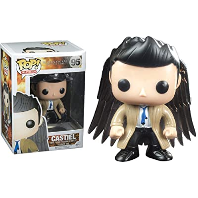 Funko Pop! Television #95 Supernatural Castiel with Wings Exclusive Figure: Toys & Games