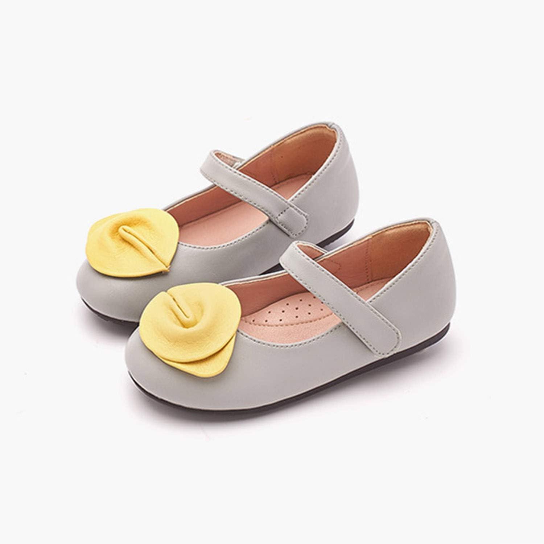 AIBAB Chaussures pour Enfants Fille Chaussures De Vachette