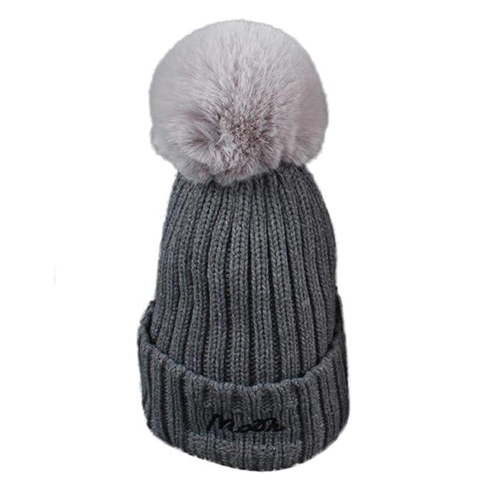 Super süße neueste kaufen schnelle Farbe ZARU Frauen-Buchstabe Häkelarbeit-Wollknit-Ski-Kugel-Kappe ...