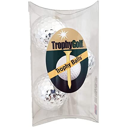 Amazon.com: Trofeo Golf 3 brillante bolas de golf, color ...