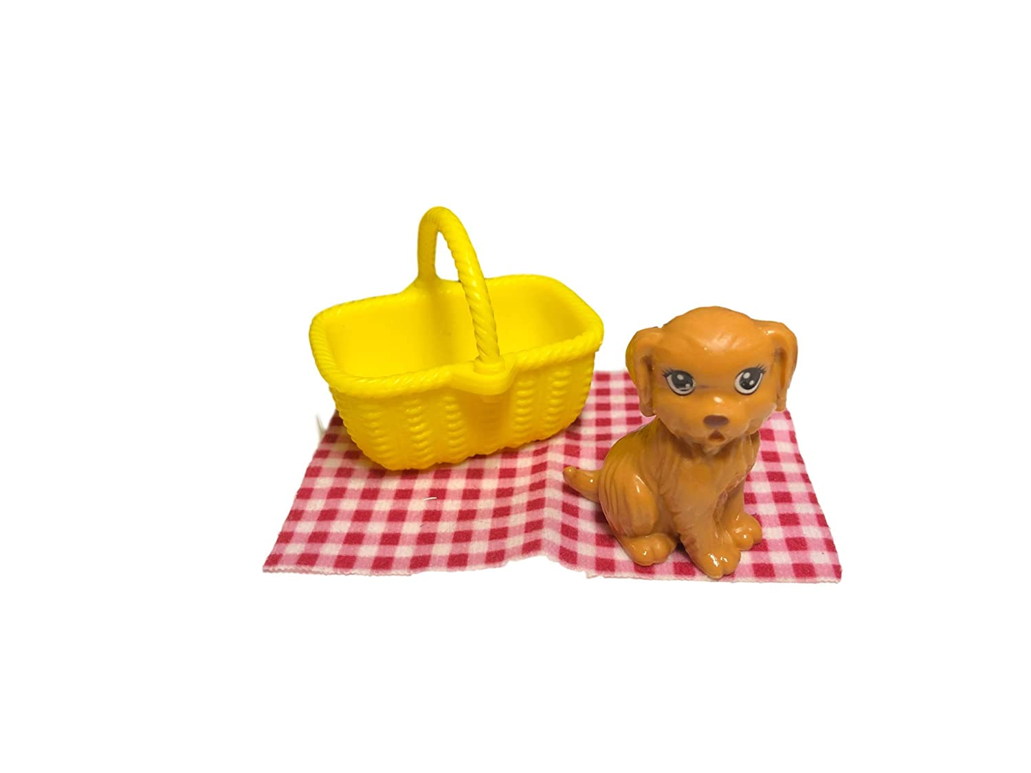 Barbie Camping Fun Accessory Pack Puppy Picnic 4 Pieces Mattel SG/_B01L3QXY1G/_US