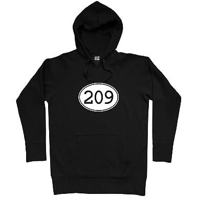 Amazoncom Smash Vintage Mens Area Code Stockton Hoodie - Where is area code 209
