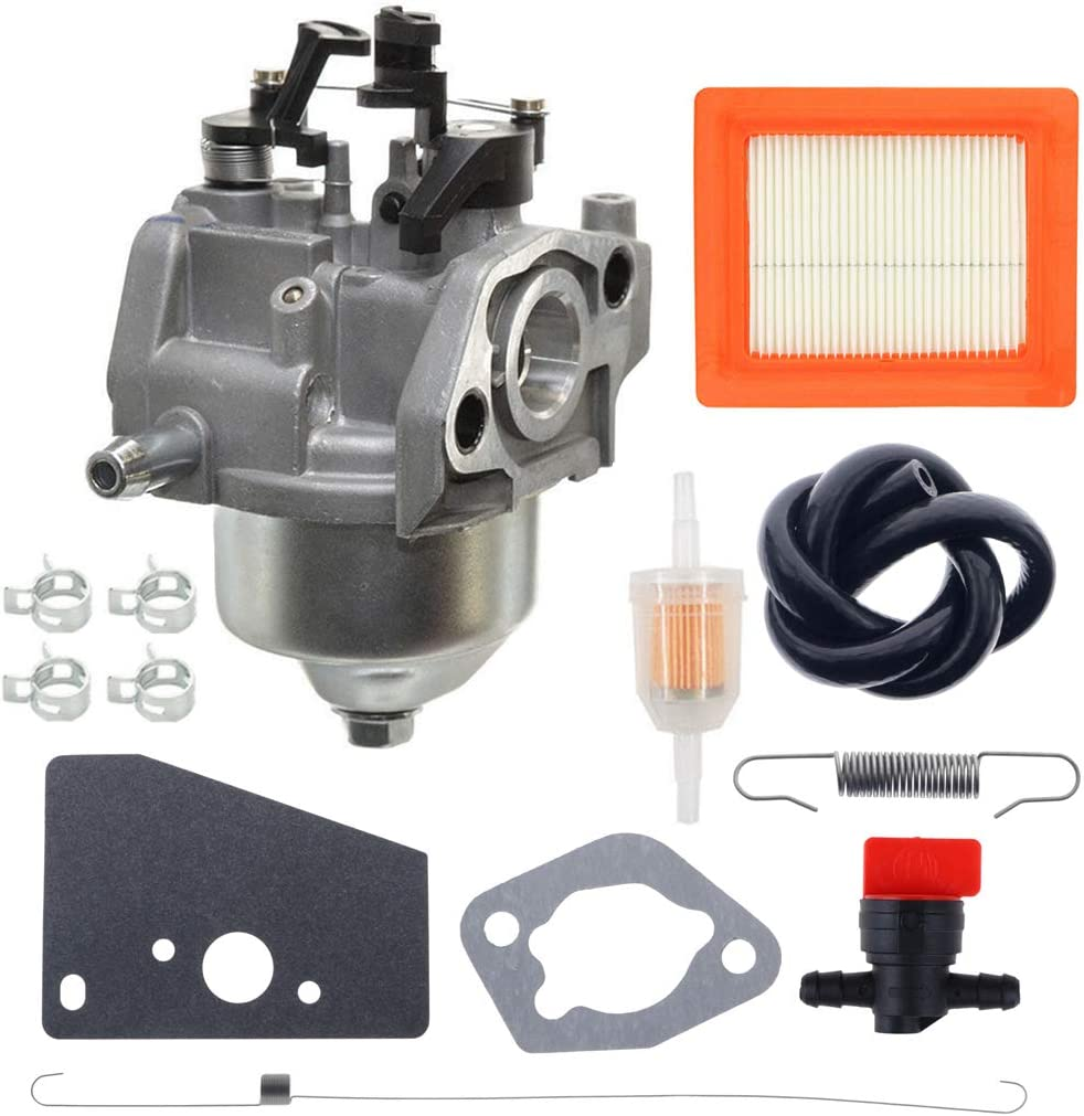 ANTO 14 853 55-S Carburetor for Kohler XT650 XT675 XT6.5 XT6.75 Lawn Mower Engines 14-089-14-S Spring 14-089-44-S Spring with 14 083 15-S Air Filter Tune Up Kit