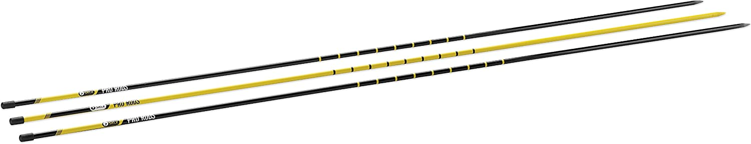 Golf Alignment Sticks Training Aid with 3 Sticks SKLZ