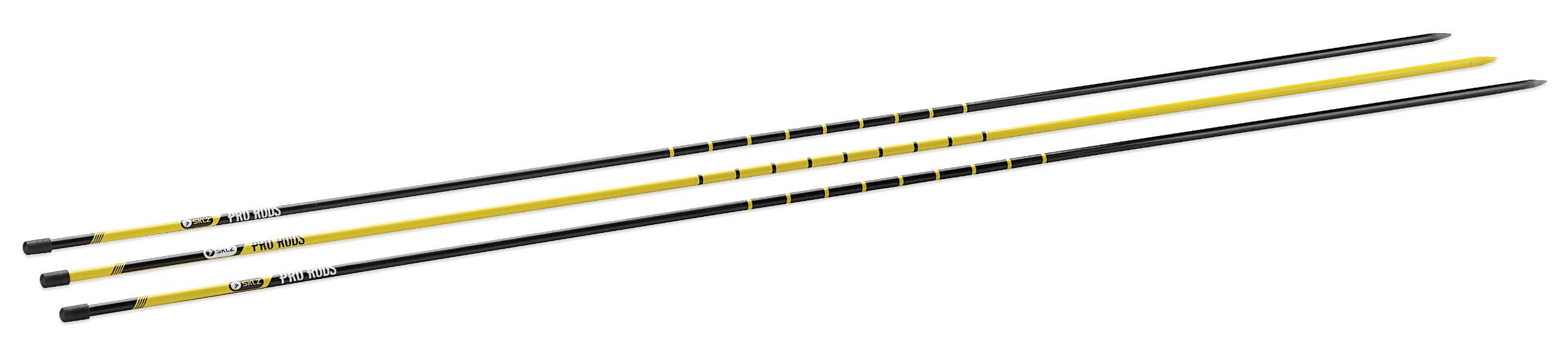 SKLZ Golf Alignment Sticks Training Aid with 3 Sticks by SKLZ