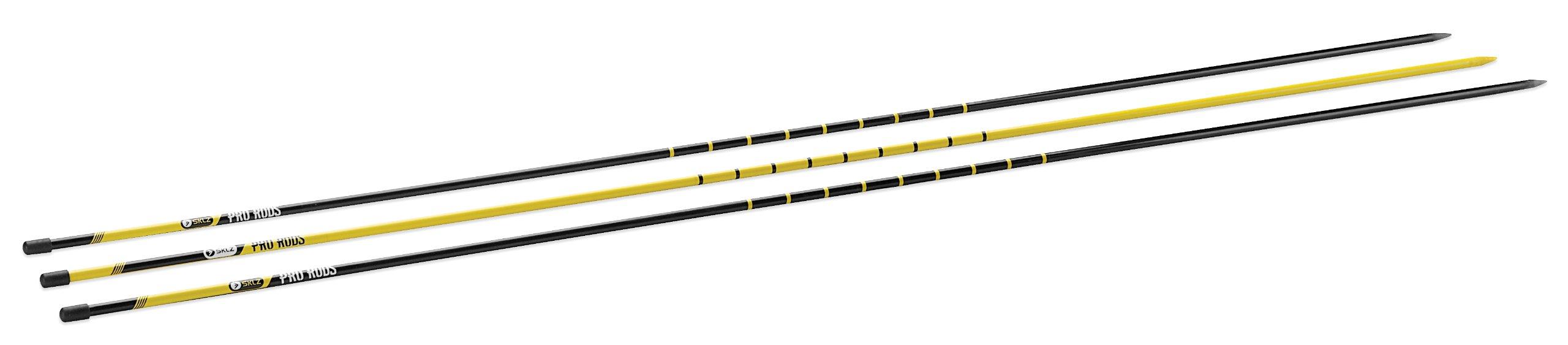 SKLZ Pro Rods Golf Trainer - 3-Rod Alignment Set
