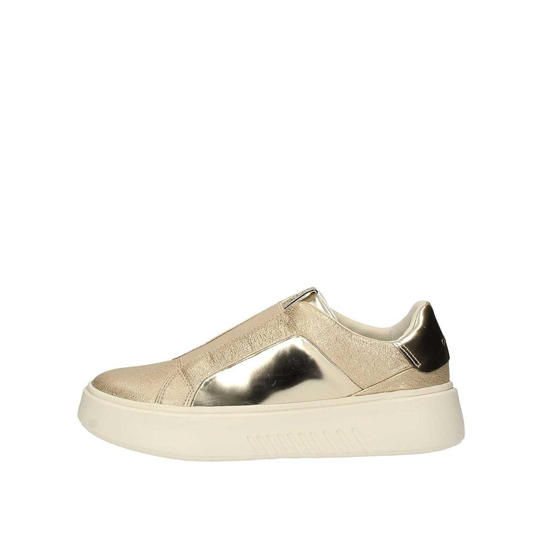Geox Scarpe Sneaker Donna Platino Oro D828DB 0KYBN C0586