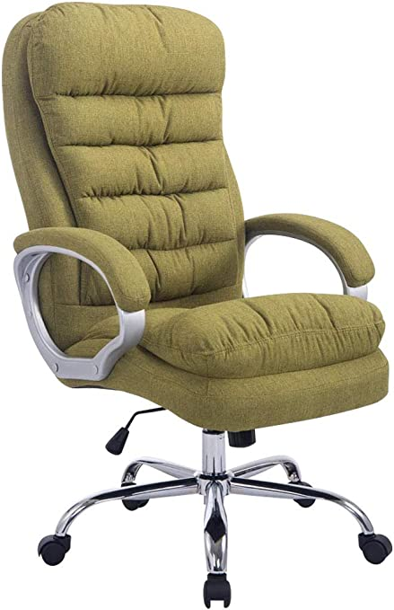 Clp Xxl Office Chair Vancouver Weight Capacity Up To 235 Kg Fabric Covers Upholstery Green Amazon Co Uk Kitchen Home