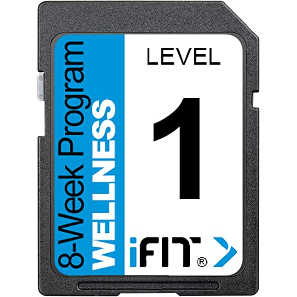 Amazon.com: IFIT Wellness 8 nivel de Semana Program Tarjeta ...