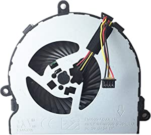 Replacement CPU Cooling Fan for HP 15-AC 15-ac020nr 15-ac029ds 15-ac120nr 15-ac032no 15-ac042ur 15-ac121dx 15-ac137cl 15-ac142dx 15-ac150ds 15-ac148ds 15-ac159ur 15-ac023ur Series, PN: 813946-001