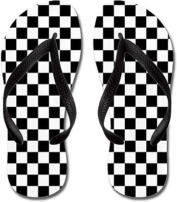 checkerboard flip flops